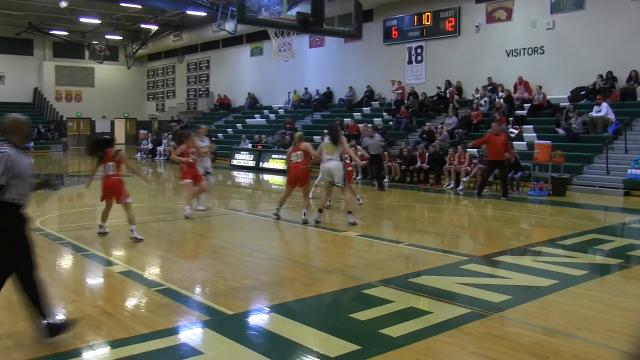 Battle Creek Enquirer highlights as state-ranked Coldwater defeats Pennfield in girls basketball