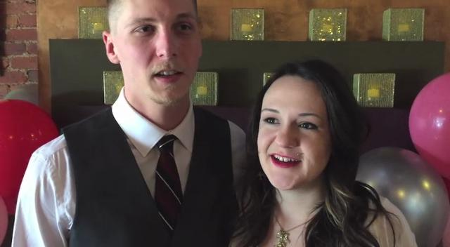 Couple gets hitched at Howell coffee shop