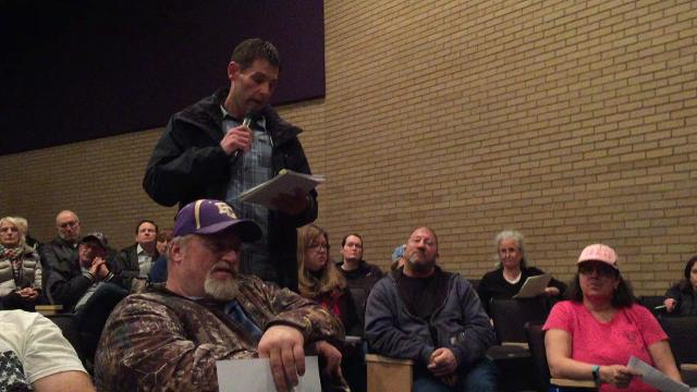 Marion Township resident in favor of proposed power plant