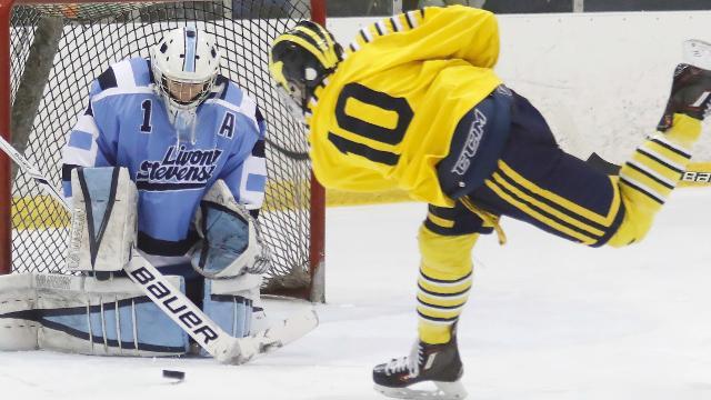 Video coverage of Hartland-Livonia Stevenson hockey