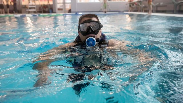 Port Huron firefighters are training to perform brief rescue dives after getting private funding to purchase new equipment. The vest apparatuses allow them to dive for 10 to 15 minutes at a time in water up to 30 feet. Chief Dan Mainguy said the fire department saw a void in response capabilities after two drownings last summer in the St. Clair River.
