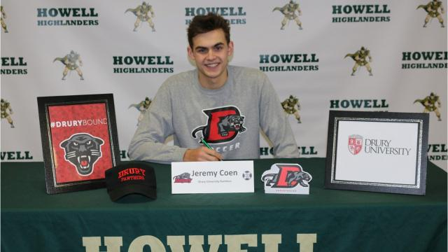 Three more county athletes sign letters of intent