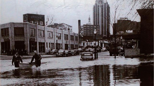 Lansing floods through the years