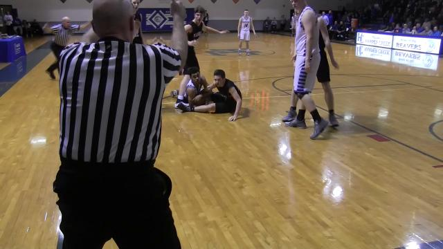 Enquirer highlights as Marshall earns a season sweep over Harper Creek in boys basketball