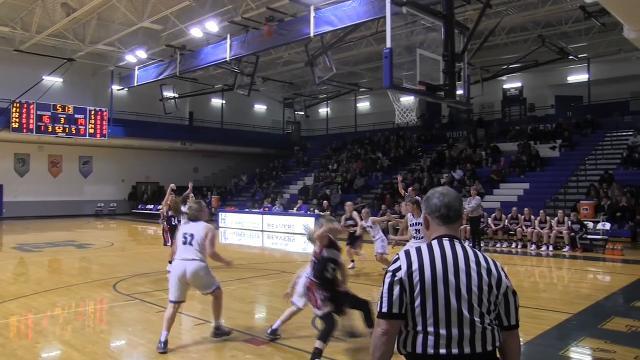Enquirer highlights of Marshall win over Harper Creek in girls basketball