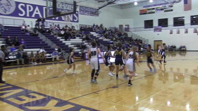 Highlights of Lakeview vs. BCC and Harper Creek vs. Gull Lake in Class A girls basketball district tourney