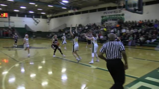 Marshall wins fourth straight girls basketball district title with win over Pennfield