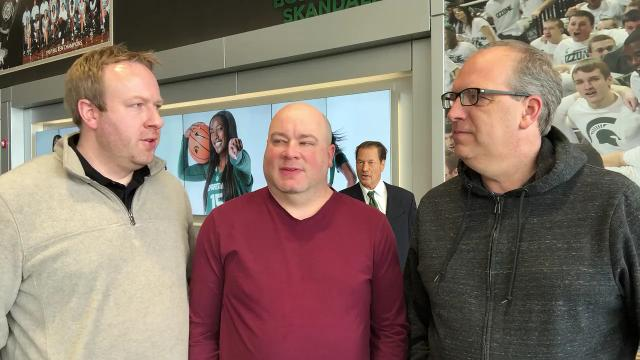 Lansing State Journal columnist Graham Couch, Detroit Free Press/LSJ MSU beat writer Chris Solari and Free Press columnist Shawn Windsor break down the Spartans heading into their NCAA tourney opener vs. Bucknell, as Tom Izzo looms in the background.