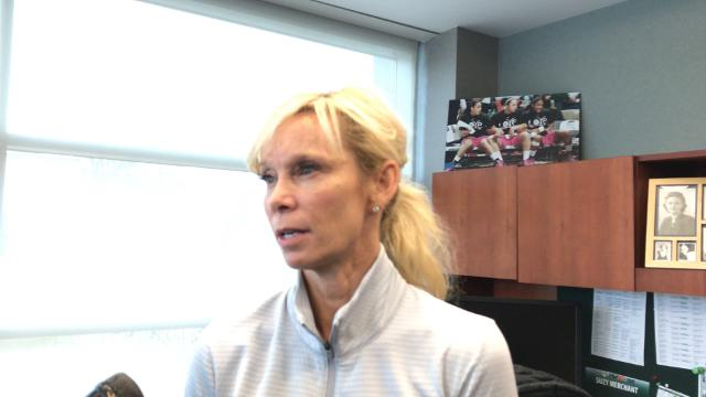 Hear comments from Michigan State women's basketball coach Suzy Merchant as she looks ahead to the WNIT.