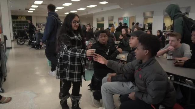 Human Sundaes at Farmington Harrison High