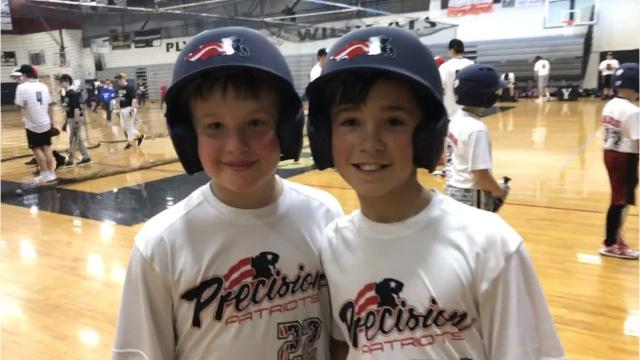 A record turnout of young baseball players attended a March 17 baseball clinic at Plymouth High School. They learned at seven stations, taught by varsity players and coaches.