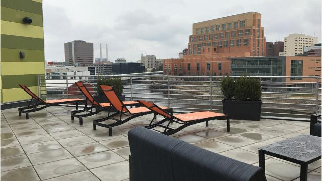 Cool Spaces: Rooftop Patio, Fitness Center Make Marketplace Apartments  Phase II Stand Out