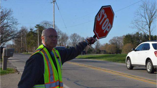 Merle Boyer, 65, was back on the job Monday, a little over a month after a hit-and-run left him battered and shaken up.