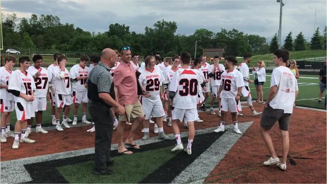 Northville defeats Plymouth in boys lacrosse regional final.