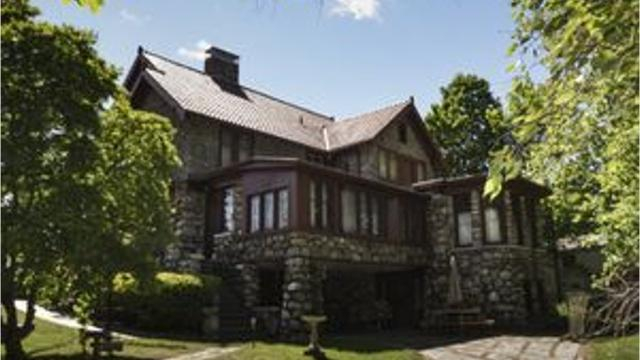 Century-old stone house on South River Street along the Grand River is 'everyone's dream house;' and listed for just under a half million dollars.