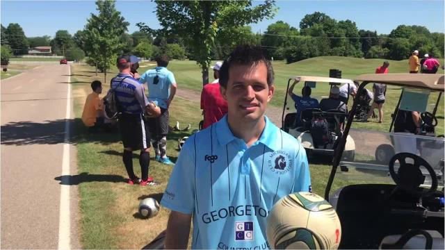 The relatively new sport of FootGolf is on the rise. On July 7-8 at Fox Hills Golf and Banquet Center in Plymouth, 67 golfers from 17 states took part in a national qualifier for the 2018 FootGolf World Cup in Morocco.