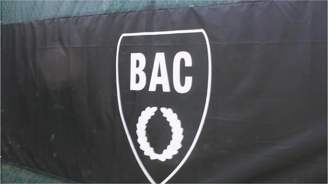 Tennis campers at the Birmingham Athletic Club