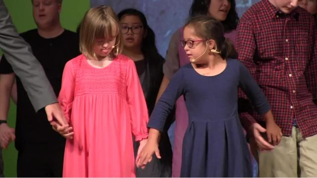 """The Penguin Project, a national theater program where children with special needs fill all the roles in a modified version of a Broadway play, comes to Battle Creek with """"Annie Jr."""" presented by Lakeview Masque. The performances take place at the Lakeview Middle School Auditorium, July 20, 21 and 22."""