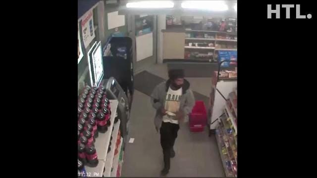 Security video from the Meijer gas station at Warren and Newburgh roads shows two men believed to be involved in the June 29 holdup there. Police are asking for the public's help in identifying them.