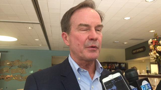Attorney General Bill Schuette, one of four Republican gubernatorial candidates in the Aug. 7 primary, stuck to his three-point goal for governor but downplayed recent controversies during a luncheon on Thursday, Aug. 2, 2018, in Port Huron .