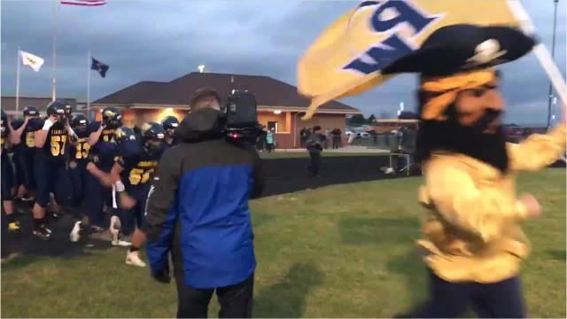 Highlights from the Pewamo-Westphalia-Williamston high school football game on Friday, Oct. 19, 2018.
