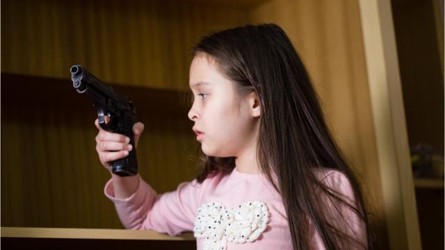 Handguns and children, keeping kids safe