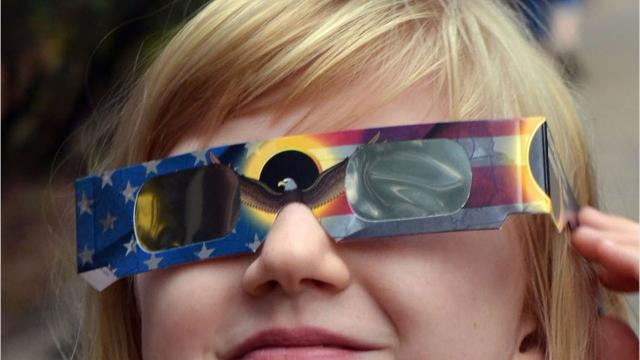 You'll be able to see 86-87 percent of the solar eclipse in the Jackson area. Be prepared to watch it safely.