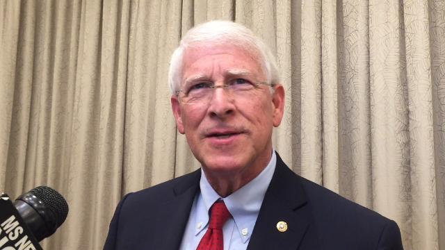 U.S. Sen. Roger Wicker, R-MS, reiterates his stance that the Mississippi state flag should be put in a museum and replaced with a more unifying banner for the state.