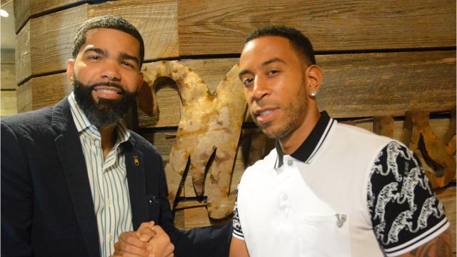 Jackson Mayor Chokwe Antar Lumumba partnered up with Ludacris to encourage Jackson youth to be all they can be Friday