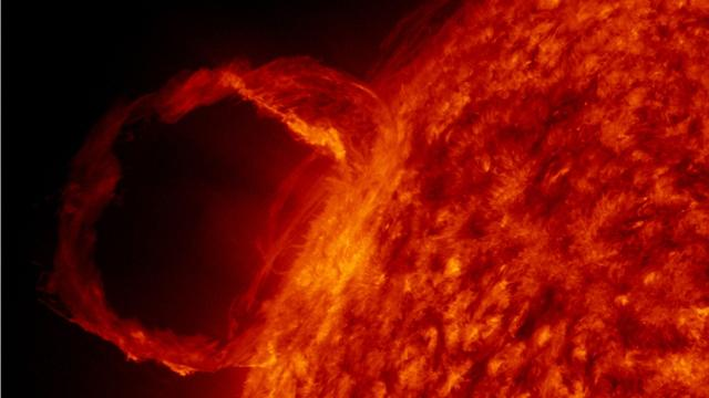 According to NASA,this month the Earth was struck by the largest solar flare to occur in 12 years. On Wednesday, Sept. 6, the Sun released a tremendous X9.3 flare, one of the strongest ever recorded.