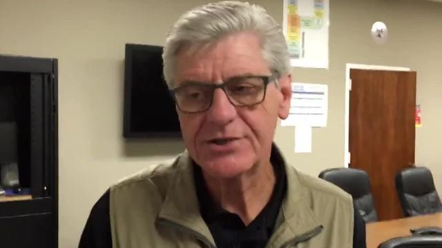 Mississippi Gov. Phil Bryant spoke to The Clarion-Ledger following a 10:30 a.m. press briefing on Sunday, Oct. 8, 2017. Bryant detailed the impact of Hurricane Nate, which made landfall on the Mississippi Gulf Coast overnight.