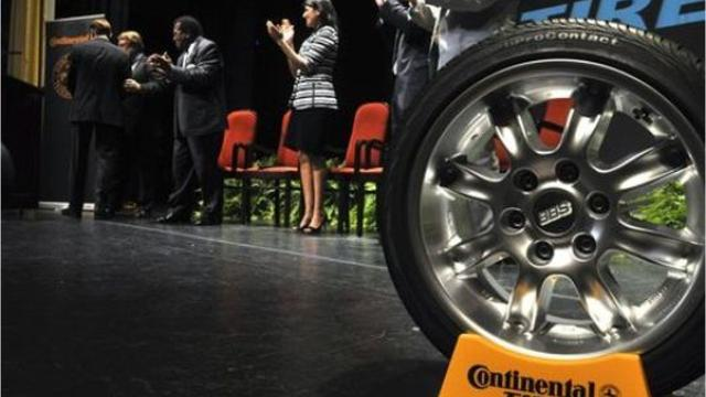 Continental Tire officials gave an update on the company's Mississippi plant, and timeframe for when hiring and production will begin.