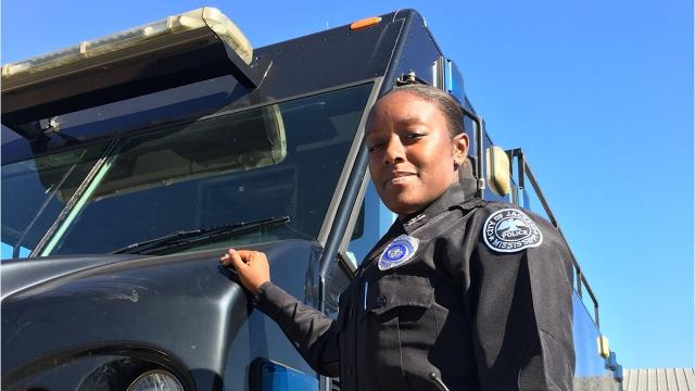 Cossandra Feltson talks about being on SWAT and being a mother, and reveals what she prays for every day.