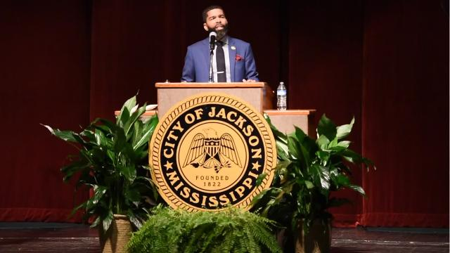 Jackson Mayor Chokwe Antar Lumumba gives his thoughts on working with Gov. Phil Bryant on an alternative for the Jackson Public Schools system.