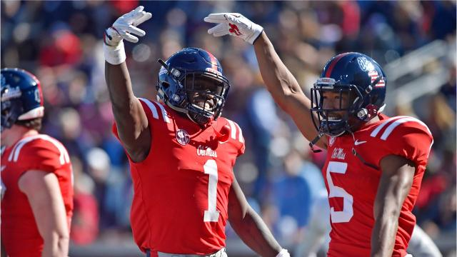 The surprising Ole Miss Rebels are 5-5 this season and looking for a third-straight win, this one at home against Texas A&M. The Aggies are 6-4 and have changed quarterbacks again, this time to Nick Starkel.