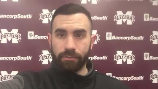 MSU beat writer Will Sammon talks about spending four days with the Bulldogs as it prepared for and played a critical SEC road game