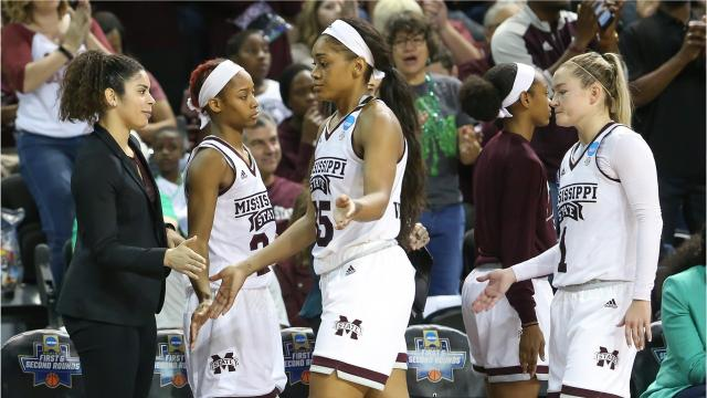 Will Sammon and Brody Miller discuss MSU's first-round win in the 2018 NCAA women's basketball tournament.