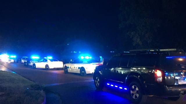 The incident occurred at Valero on Cooper Road close to 1 a.m. on Wednesday.
