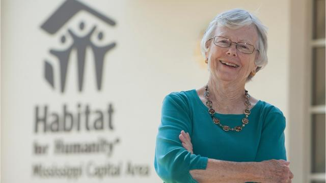 Jackson resident Mary Louise has worked with Habitat for Humanity Capital Area since 1992. Meet this amazing volunteer.
