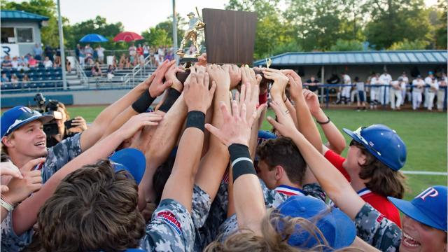 Jackson Prep defeated Jackson Academy 15-3 Wednesday to clinch its fifth title in six years.