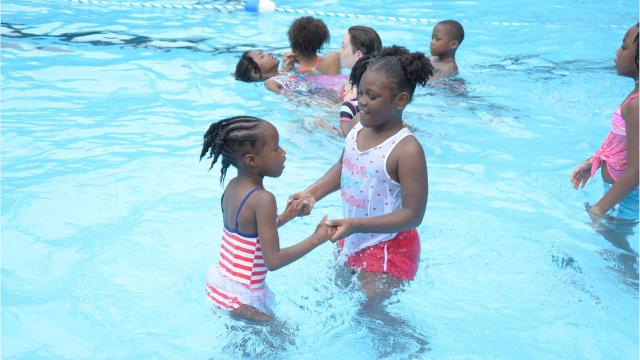 For nearly two years a city pool has remained unused and closed to the public. Local church New Horizon Ministries stepped up to the plate to oversee the pool's repairs to get it reopened and can now begin to see the fruits of their labor.