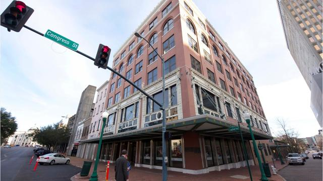 The Heritage Building will be used as office space but the developer, Kip Gibert, is planning to create neighboring apartments, coffee shops and restaurants.
