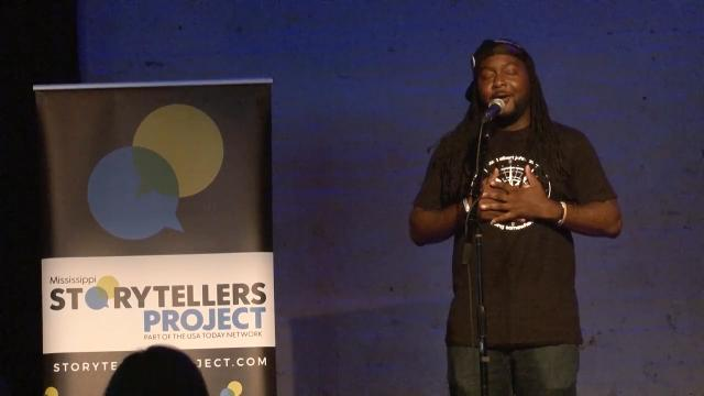 At Clarion Ledger's Mississippi Storytellers: Music & Me, rapper Stephen Brown tells a story about meeting his No. 1 celebrity crush in Barbados.