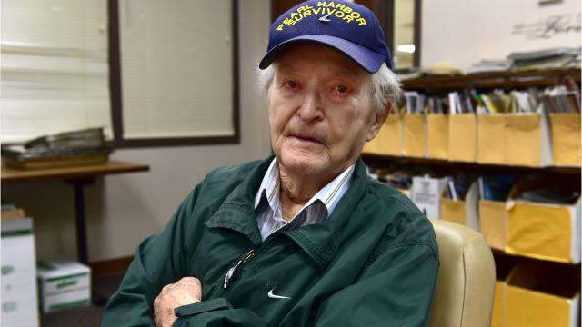 William Breland of Columbia, Mississippi has seen a great deal. He served in WWII, and witnessed the sinking of the U.S.S. Arizona at Pearl Harbor. This week he turned 100.
