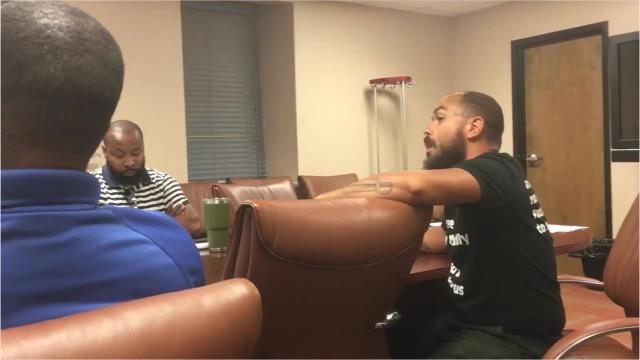 Mayor Chokwe Antar Lumumba's task force to explore releasing the identification of Jackson Police Department officers went off the rails Monday as community activists disrupted a meeting
