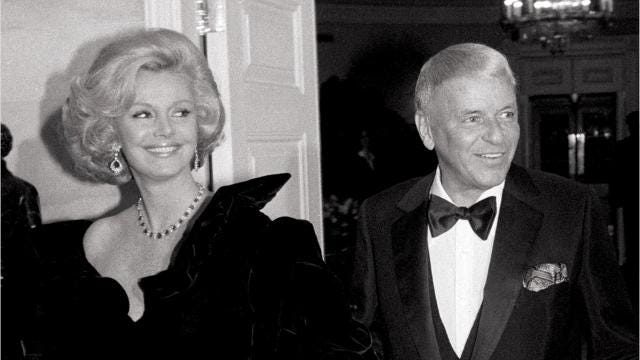"""Barbara Sinatra, who rose to social prominence as """"Lady Blue Eyes"""" and then developed a legacy of her own, died July 25, 2017 at her Rancho Mirage home. She was 90."""