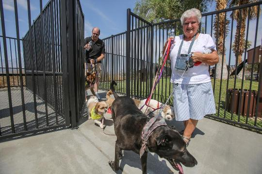 Desert Hot Springs' new dog park