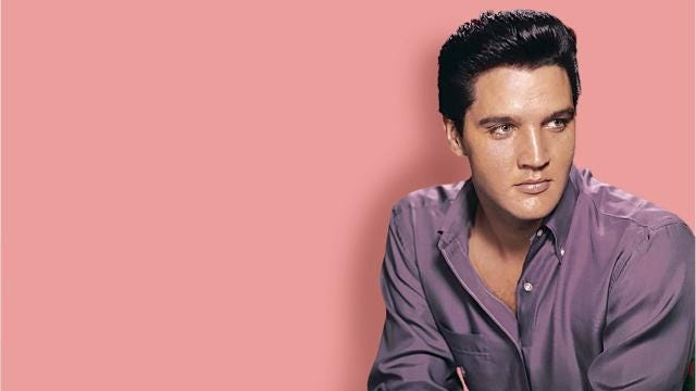this story of elvis presley was told by a set of dirty dishes