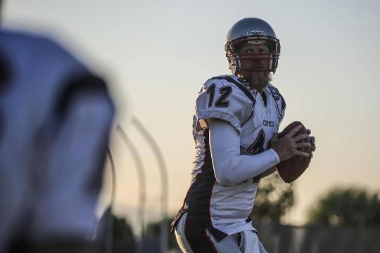 Todd Marinovich returns to football, finds home in the desert