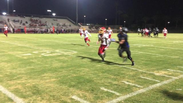 Hemet defense disrupts Cathedral City pass attempt